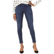 Liverpool Petite Sienna Pull-On Skinny in Silky Soft Stretch Denim in Dark Indigo Blue Dark Indigo Blue