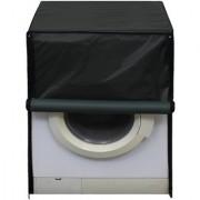 Glassiano Green Waterproof Dustproof Washing Machine Cover For Front Load Haier HW60-1279 6 Kg Washing Machine