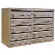 Metalkas Modulová poštovní schránka TG-7SMC4, 10 boxů