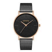 Ceas femei luxury bracelet Geneva golden case