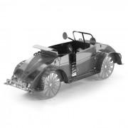 DIY 3D Puzzle montado modelo Toy Beetle ATV - Plata