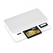 Moshi Cardette Type-C Card Reader - четец за карти памет и USB Hub за MacBook и устройства с USB-C порт