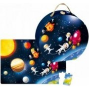 Puzzle Janod Boxed Puzzle - Outer Space
