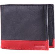 WildHorn Men Casual, Formal Black Genuine Leather Wallet(6 Card Slots)