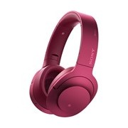 Sony h.ear on MDR-100ABN Wired/Wireless Bluetooth 40 mm Stereo Headset - Over-the-head - Circumaural - Bordeaux Pink