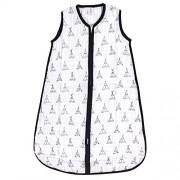 Yoga Sprout Saco de Dormir Unisex de algodón sin Mangas para bebé, Teepee Muslin 1-Pack, 18-24 Meses