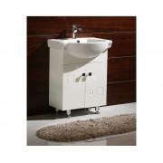 Rossinni Mobilier de baie cu picioare , culoare alb 6080 Corpuri baza cu lavoar