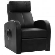 vidaXL Električna fotelja za masažu sa daljinskim upravljačem
