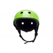 Kinderkraft dečija kaciga za bicikl SAFETY zelena