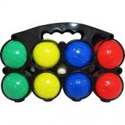 Комплект 8 топки за петанк от PVC