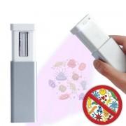 Mini UV lampa výsuvná do kapsy - UVC žárovka 5W