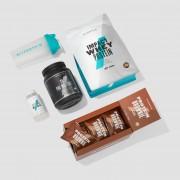 Pack para Estudiantes - Chocolate Blanco - Crema de Fresas