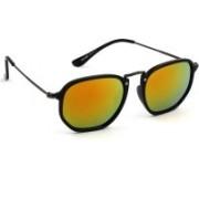 Eyeland Wayfarer Sunglasses(Orange, Yellow, Multicolor)