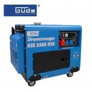 Електрогенератор GUDE GSE 5500 DSG