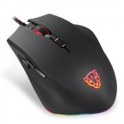 MOTOSPEED V80 Stunning RGB Horse Lighting Mode Backlight Game Mouse - Black