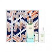 Hermes Un Jardin Sur Le Nil Set (Eau De Toilette 100 Ml + Body Lotion 80 Ml + Mini 7,5 Ml) (3346131102471)