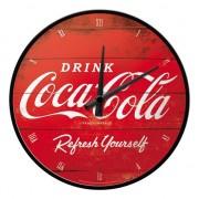 Geen Ronde wandklok Coca Cola - Action products