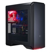Caixa Cooler Master MasterCase Pro 6, Red LED, ATX