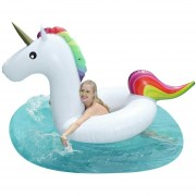 Unicornio Gigante Salvavidas Inflable Para Alberca