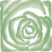 Koziol Panel dekoracyjny Romance 4 szt. miętowy