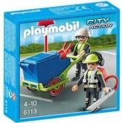 Комплект Плеймобил 6113 - Чистачи, Playmobil, 291155