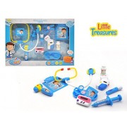 Medical Center Dr Set Kit With Real Working Accessories Doctors Check Up Playing Set Preschoolers Will Love To Play Doctor Or Nurse With This Handy Medical Kit