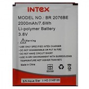 INTEX BR2076BE BATTERY FOR INTEX AQUA STAR 2 (2000 mAh)