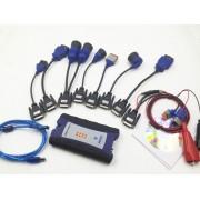 Interfata Diagnoza Auto Profesionala Nexiq-2 USB LINK cu Bluetooth pentru Utilaje Agricole, Camioane, Remorci, Autobuze, cu cabluri adaptoare