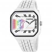 Reloj KTV5628/1 Blanco Calypso Hombre MTV