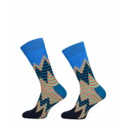 Happy Socks - Stripe Reef Socks - Blauw - Size: 41-46