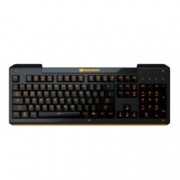 Клавиатура Cougar Aurora, гейминг, подсветка, черна, USB