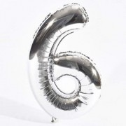 Crazy Sutra Six Number Foil Toy Balloon