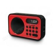 METRONIC Radio portable FM - Rouge