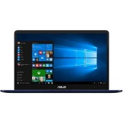 "Ultrabook™ ASUS ZenBook Pro UX550VE-BN007R (Procesor Intel® Core™ i7-7700HQ (6M Cache, up to 3.80 GHz), 15.6"" FHD, 16GB, 512GB SSD, nVidia GeForce GTX 1050Ti @4GB, Win10 Pro, Albastru)"