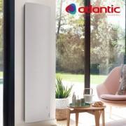 ATLANTIC Radiateur électrique Atlantic DIVALI Vertical 1500W Pilotage Intelligent Connecté Lumineux - 507617