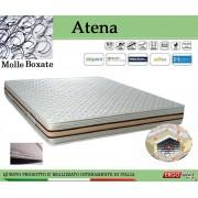 ErgoRelax Materasso a Molle Boxate Mod. Atena da Cm 85x190/195/200 Fodera Cotone Fascia TreD Altezza Cm. 24 - Ergorelax