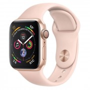 Apple Watch Series 4 GPS 40mm in alluminio color oro - Sport Rosa Sabbia