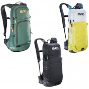 Evoc CC 10L Backpack and 2L Bladder - White/Yellow