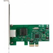 Placa de retea Gigabit i-tec PCIe Ethernet card 1000/100/10 Mbps