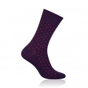 clasic pentru bărbaţi sosete Willsoor 5070 în violet culoare