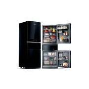 Refrigerador Brastemp Inverse 3 Frost Free 3 Portas 419L Preto 127V BRY59AE