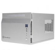 Carcasa SilverStone Sugo SST-SG06BB-Lite, CubeTower (Argintiu)