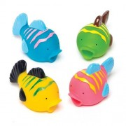 Baker Ross Tropical Fish Water Squirters (Pack of 8)