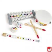 Janod Confetti Set Muziekinstrumenten Wit