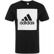 Adidas Camiseta adidas Essentials Box Logo - Hombre - Negro - XL - Negro
