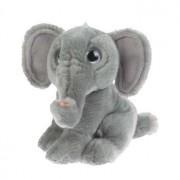 Wild Republic Pluche olifant knuffel 18 cm