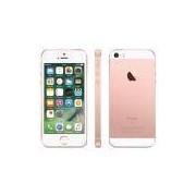 """iPhone SE Apple com 32GB, Tela 4"""", iOS 11, Sensor de Impressão Digital, Câmera iSight 12MP, Wi-Fi, 3G/4G, GPS, MP3, Bluetooth e NFC – Ouro Rosa"""