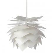 Pineapple Lampe - Pendel Medium Hvid