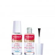 Mavala bouclier de longle rinforza e protegge lunghia fragile trattamento unghie 10 ML Fibre di Nylon + 10 ML Film Levigatore