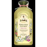 Crema-spumant de baie relaxant somn usor cu 5 plante spumante si sare siberiana Rapa